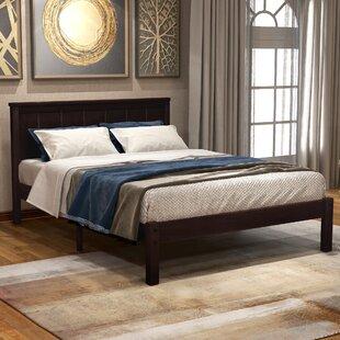 Gossy Twin Solid Wood Storage Platform Bed