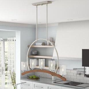 Corrine 5-Light Kitchen Island Pendant by Laurel Foundry Modern Farmhouse