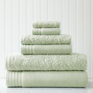 Jarred 6 Piece 100% Cotton Towel Set By Willa Arlo Interiors