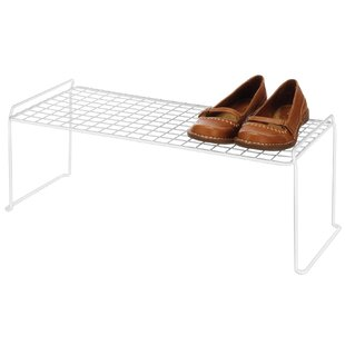 Affordable Expandable and Stackable 1-Tier Shoe Rack (Set of 6) By Whitmor, Inc