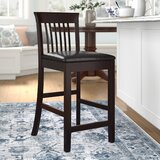 Admirable Linon Allure Counter Stool Wayfair Gmtry Best Dining Table And Chair Ideas Images Gmtryco