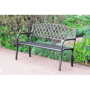 Ruhamah Steel Park Bench by Darby Home Co