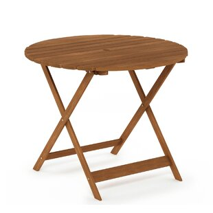 Navin Folding Wooden Dining Table By Blue Elephant