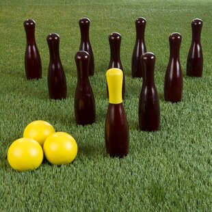 Hey! Play! Lawn Game Bocce & Bowling