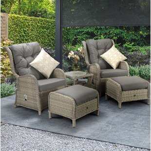 Wrenly 2 Seater Rattan Converstaion Set By Bay Isle Home