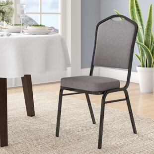 Laduke Banquet Chair with Cushion by Symple Stuff