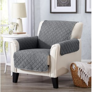 Great Bay Home Box Cushion Armchair Slipcover by Home Fashion Designs