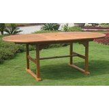 Rivas Oval Wooden Dining Table