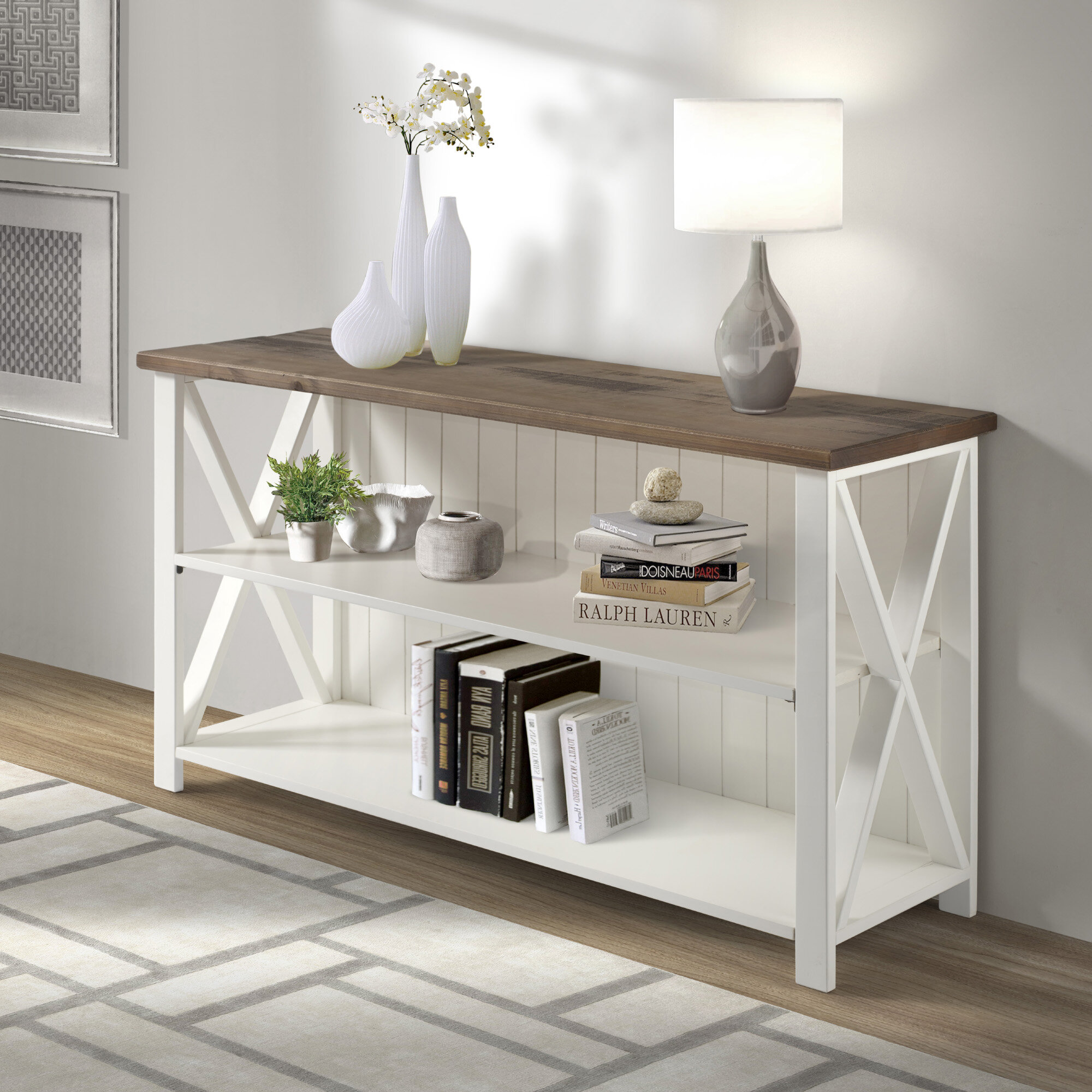 Laurel Foundry Modern Farmhouse Armando Solid Wood Tv Stand For Tvs Up To 58 Reviews Wayfair