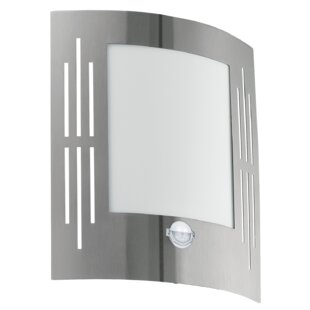 Pfister 1 Light Outdoor Flush Mount With Motion Sensor Image