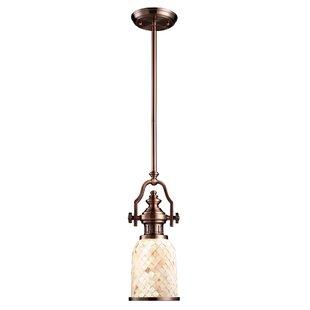 Breakwater Bay Roa 1-Light Bell Pendant
