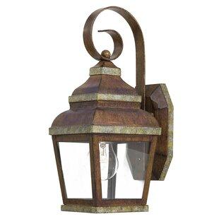 Find Saniyah 1-Light Outdoor Wall Lantern By Bloomsbury Market