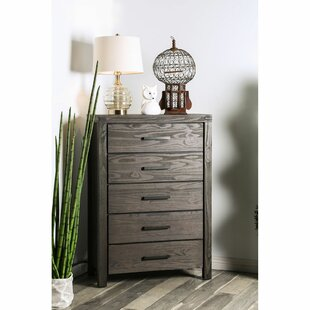Pettigrew 5 Drawer Chest by Gracie Oaks Fresh