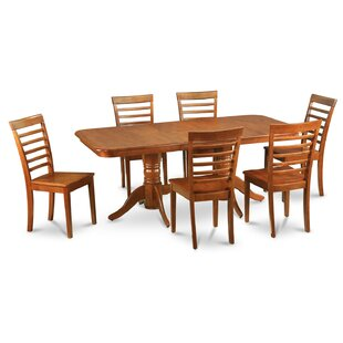 Pillsbury Contemporary 7 Piece Dining Set August Grove