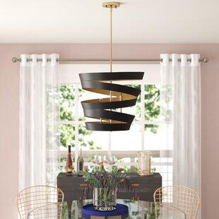 Big Save Bautista 4-Light Geometric Chandelier By Willa Arlo Interiors