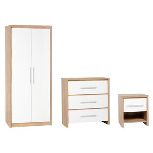 Seville 3 Piece Bedroom Set By Home Essence