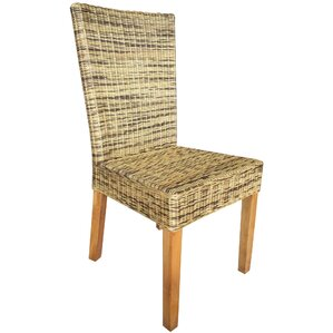 Ashland Wicker Dining Chair by Bay Isle Home