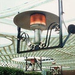 Good 50,000 BTU Natural Gas Hanging Patio Heater