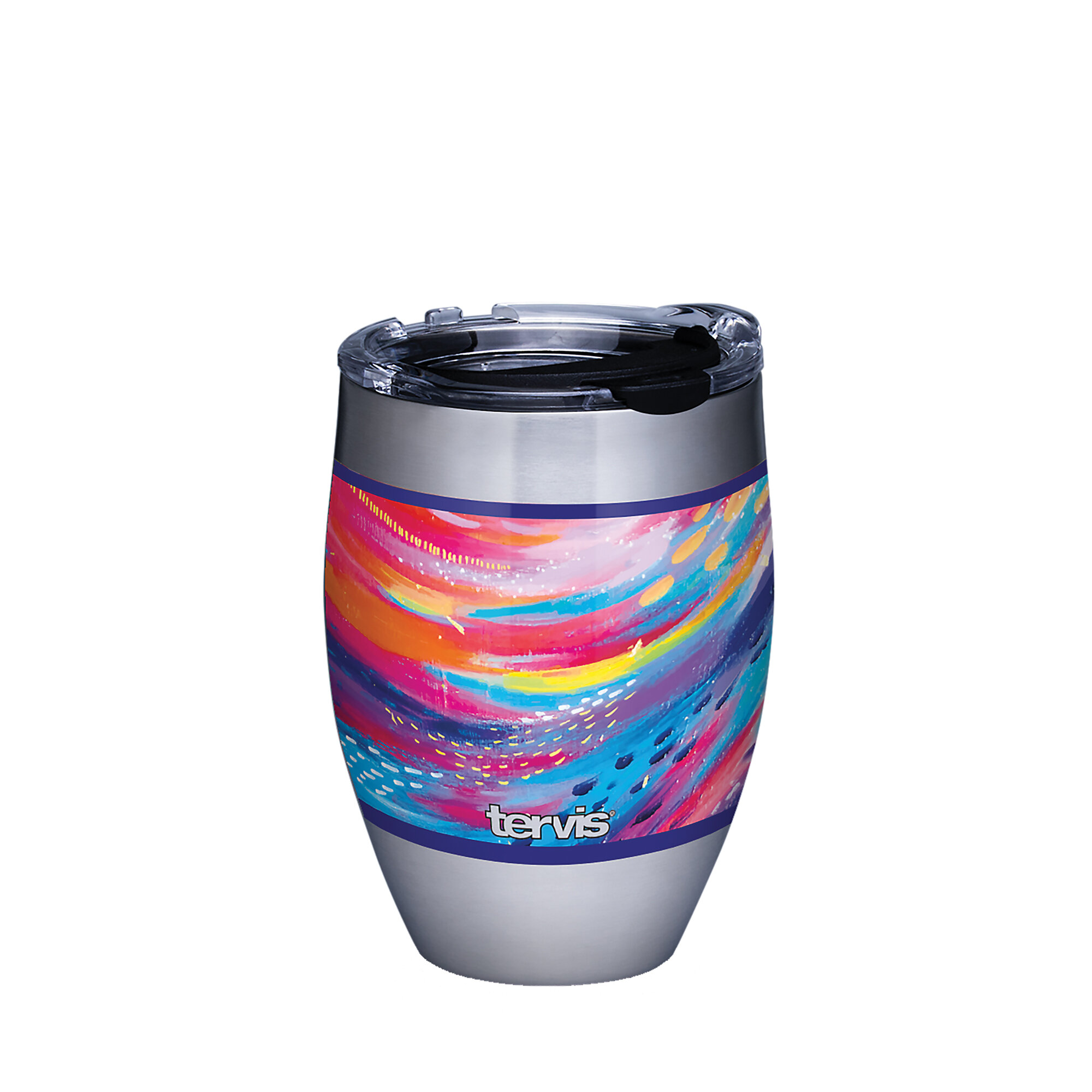 Tervis Tumbler Tervis Etta Vee Happy Abstract 12oz Stainless Tumbler Wayfair