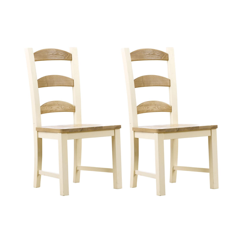 Home Etc Bena Solid Wood Dining Chair Wayfair Co Uk