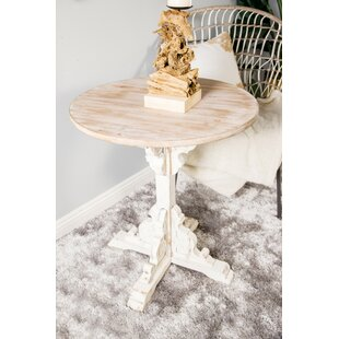 Chambery Traditional Round Wood End Table