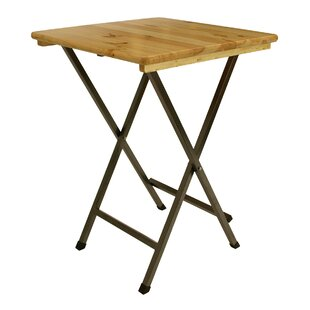 Crete Wooden And Steel Bar Table By Sol 72 Outdoor