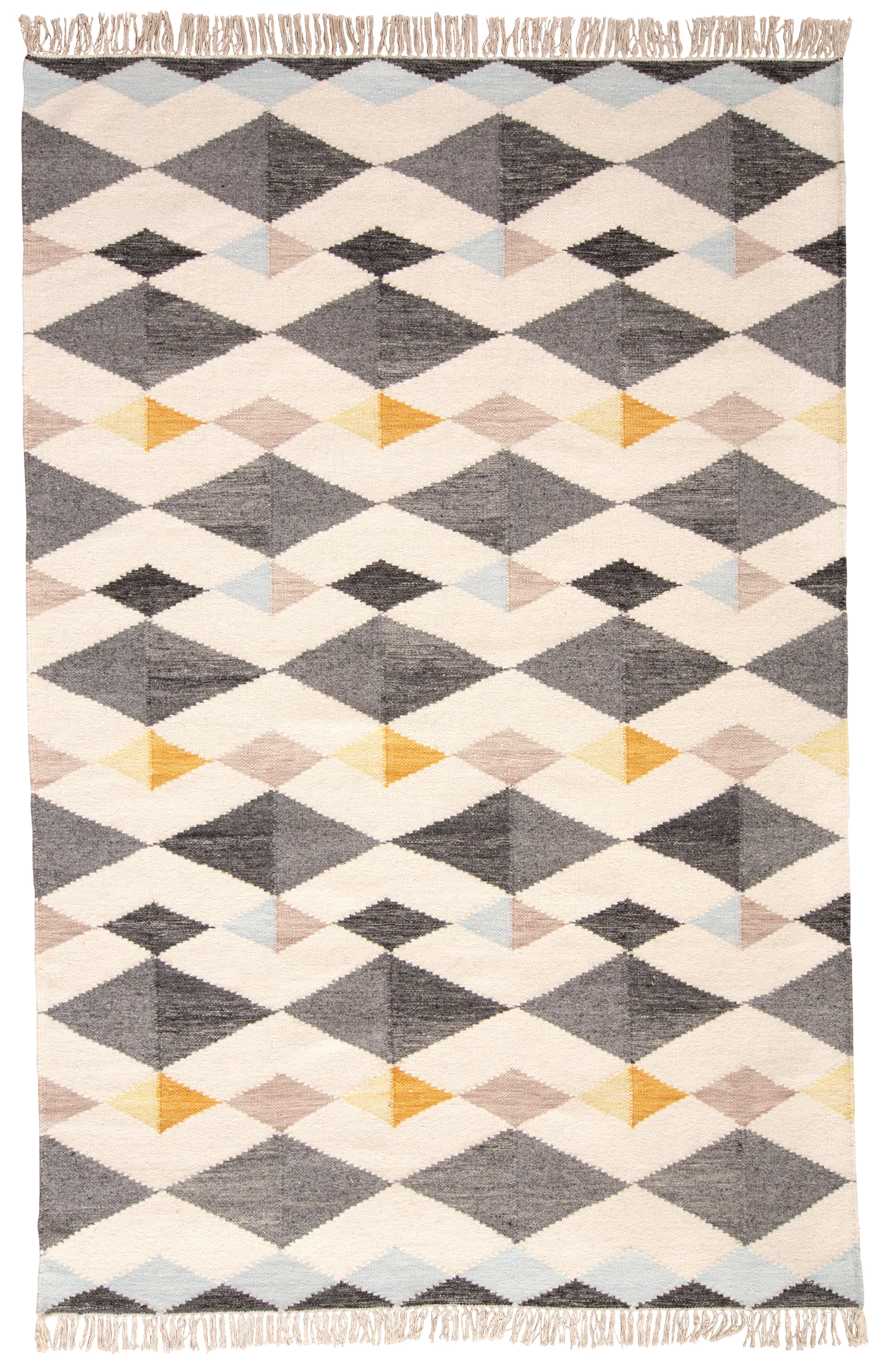 Haught Handmade Flatweave Wool Cotton Gray Rug Reviews Allmodern