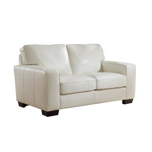 Van Nest Craft Leather Loveseat