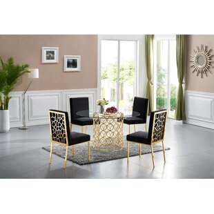 Hop 5 Piece Dining Set Everly Quinn