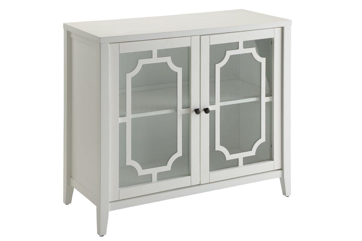 Acme Furniture Ceara 2 Door Accent Cabinet Reviews Wayfair