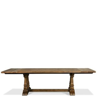 Woosley Breadboard Solid Wood Dining Table
