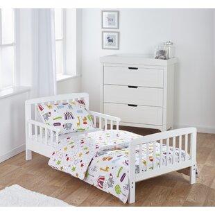 Kirsten Toddler Bed Frame with Bedding Set by Viv   Rae