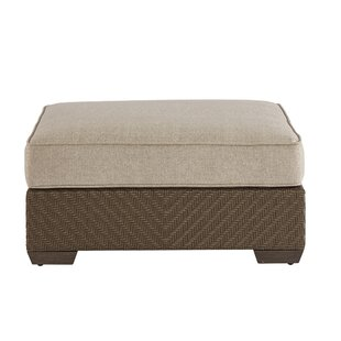 Astrid Outdoor Standard Ottoman by Gracie Oaks