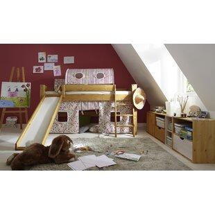 Wychwood European Single Mid Sleeper Bed By Zoomie Kids