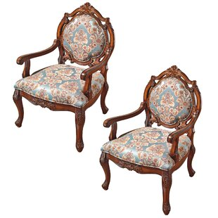 Madame De Pompadour Armchair (Set of 2)