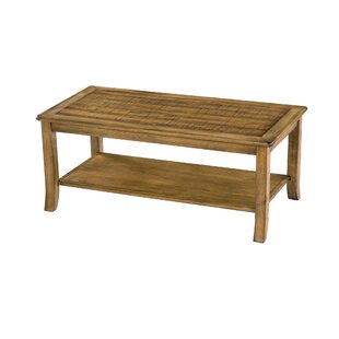 Merlin Wood Top Coffee Table