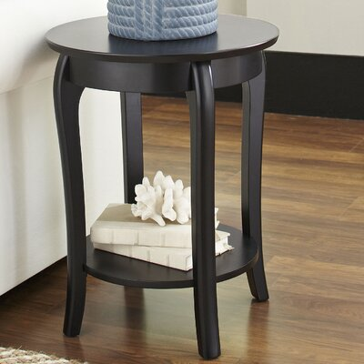 Au Side Table Color: Black by Darby Home Co
