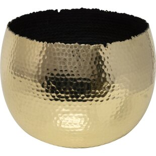 Metal Cachepot By World Menagerie