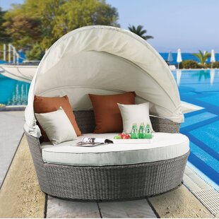 Winebarger Patio Daybed with Cushions