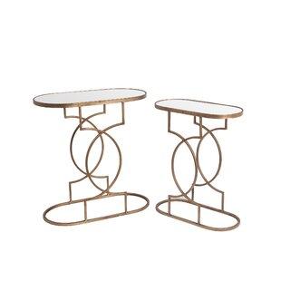 Fabia 2 Piece End Table Set by Willa Arlo Interiors