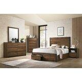 Myer Queen Standard 5 Piece Bedroom Set by Union Rustic