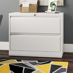 Arnett 2 Drawer Lateral Filing Cabinet