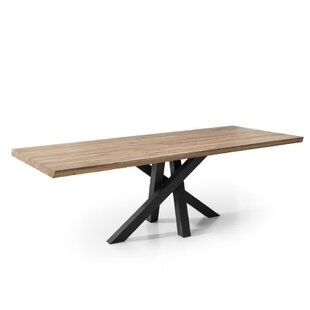 Cecil Oak Dining Table by Foundry Select