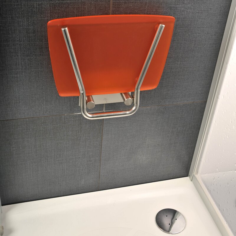 Trending Accessibility Square Fold-Up Shower Chair & Reviews | Wayfair