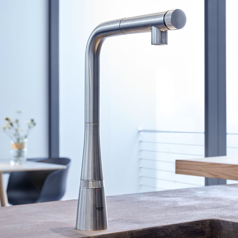 ladylux smartcontrol pull out touch bar faucet