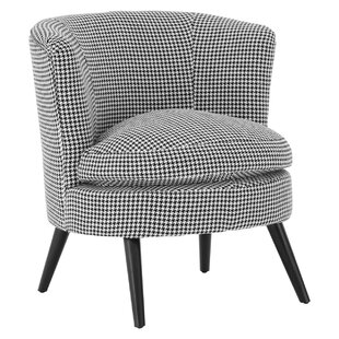 Dogtooth Round Tub Chair By Symple Stuff