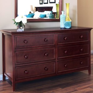 Verona 6 Drawer Double Dresser by Epoch Design