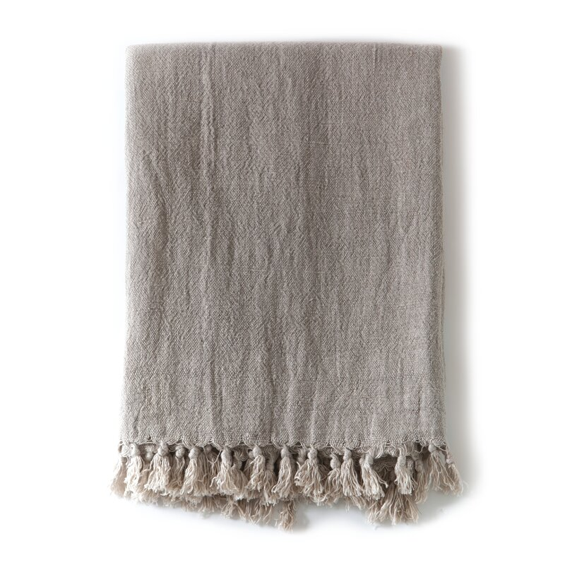 Home Decor Idea: Montauk Linen Throw #linen #throw #blanket #homedecor