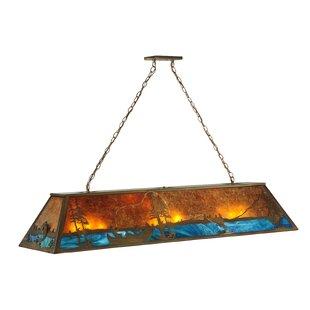 Meyda Tiffany Greenbriar Oak 9-Light Pendant