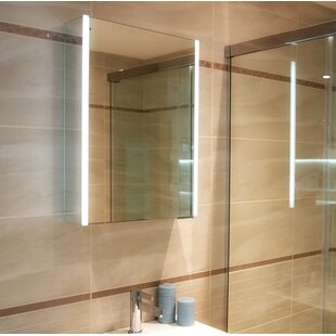 Xenon Surface Mount Medicine Cabinet With Lighting By HIB